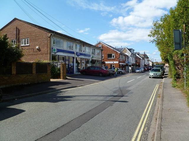 Pennington, shopping centre