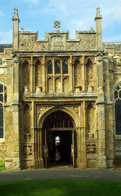 South porch, St Mary's Church, Hitchin