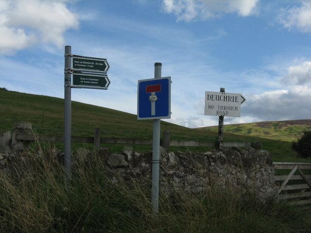 Deuchrie Road End