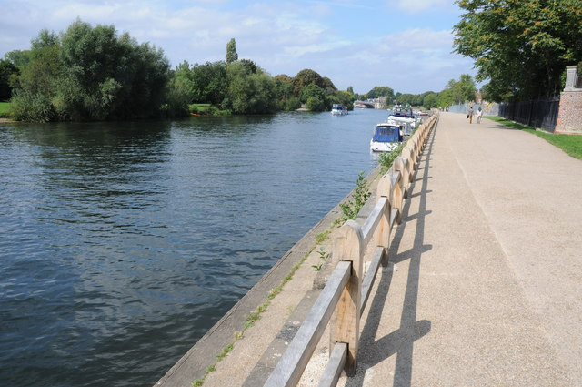 River Thames at Hampton Court