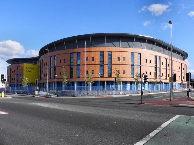 Hope Building, Salford Royal Hospital