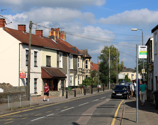 2011 : B4465 Cossham Street, Mangotsfield