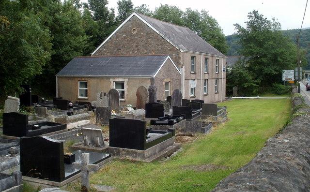 Graveyard, Capel-y-glyn, Glynneath