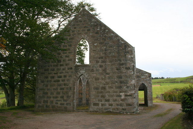 Auchindoir kirk viewed from the sou'east