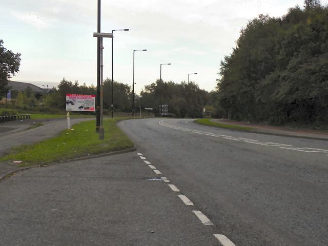 Barton Dock Road (B5211)