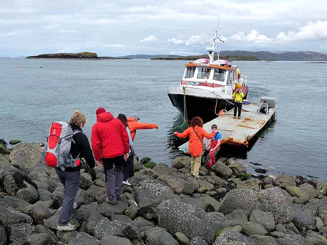 Embarking from Lunga