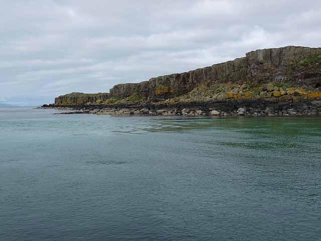 South-west coast of Fladda