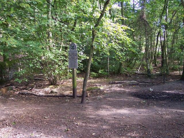 National Trust sign for Thurstaston Common