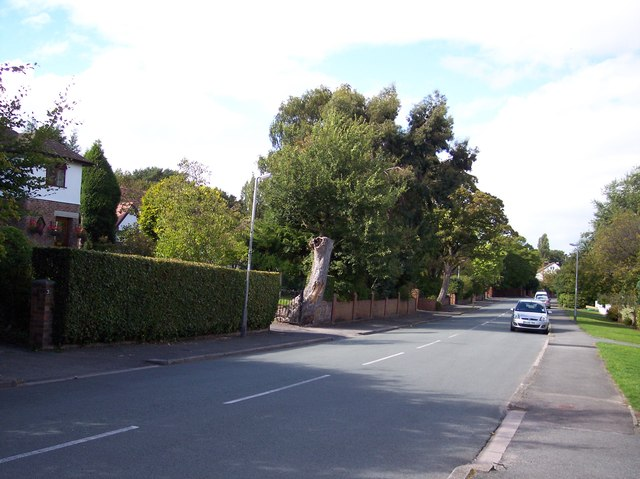 Grange Cross Lane in Grange