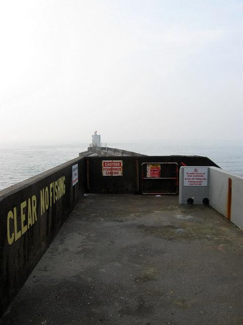 Navigation Beacon, West Breakwater
