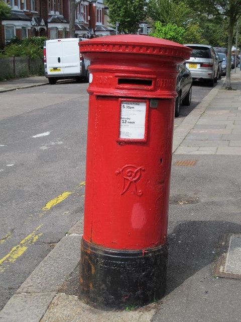 Victorian postbox, Chandos Road / Riffel Road, NW2