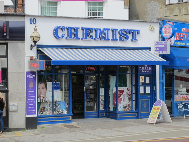 Chemist, Station Parade, NW2