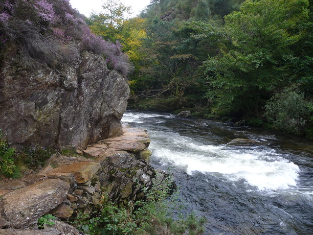 The Fishermen's Path above the Afon Glaslyn