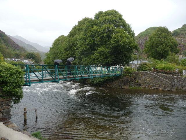 Footbridge in Beddgelert