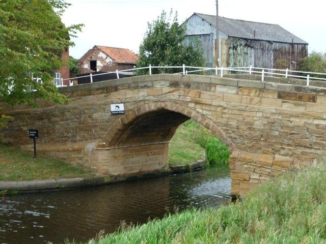 Tankard's Bridge, Selby Canal