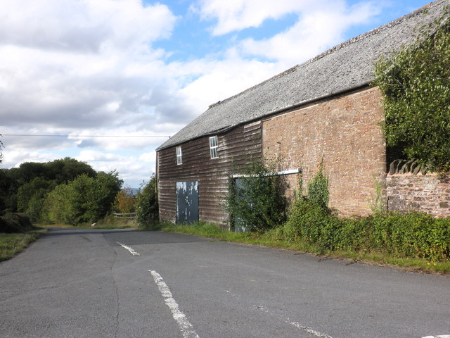 Barn at Caldicott Farm