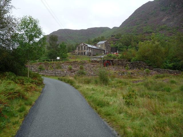 Sygun Copper Mine near Beddgelert