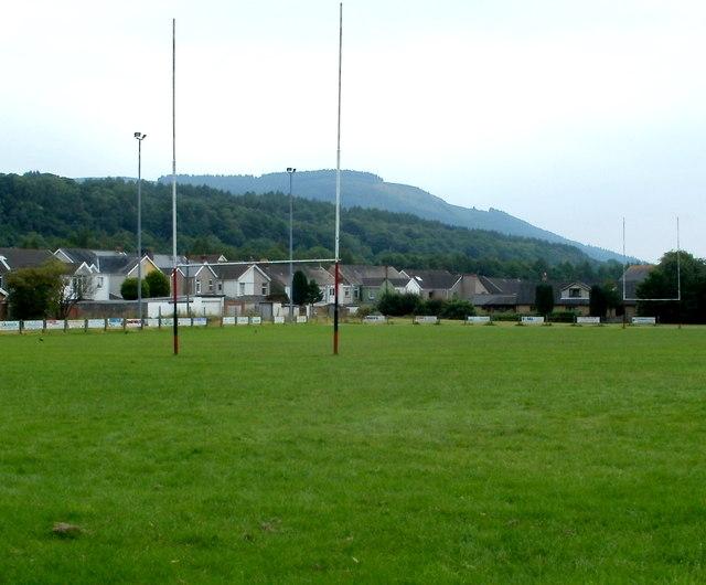 Rugby pitch, Glynneath RFC