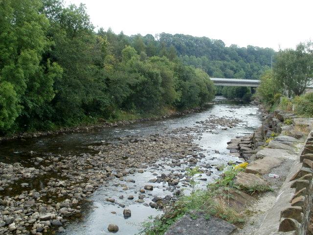 River Neath downstream, Glynneath