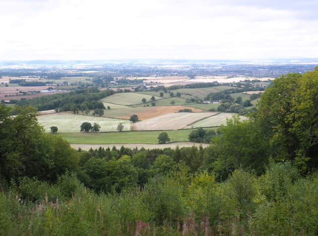 View towards King's Pitts from Aconbury Hill