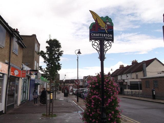Chatterton Village Sign