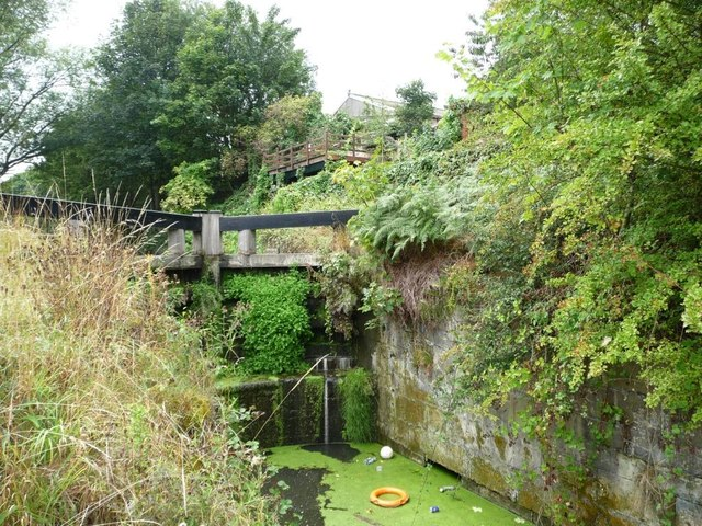 Top lock, Elsecar branch, Dearne & Dove Canal