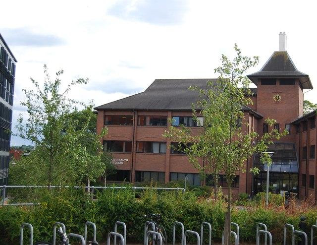 University of Birmingham - Public Health building