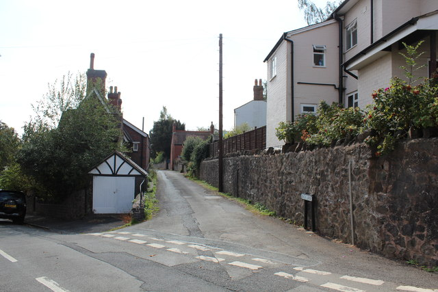 Back Lane, Malvern