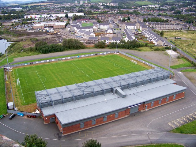 Strathclyde Homes Stadium - Home Of Dumbarton FC