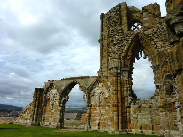 Part of Whitby Abbey