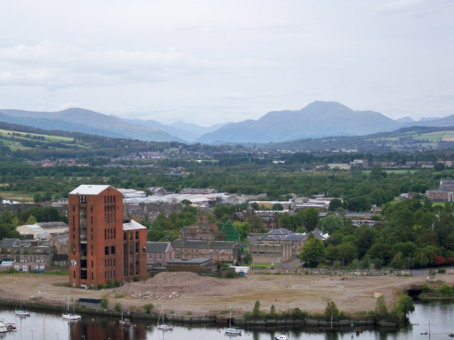 A View Over Dumbarton