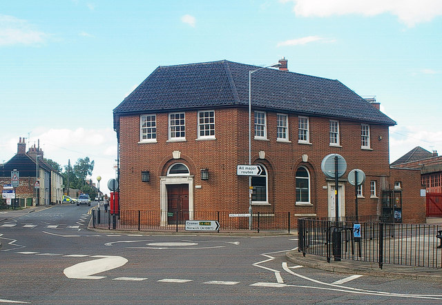 Former post office, Fakenham