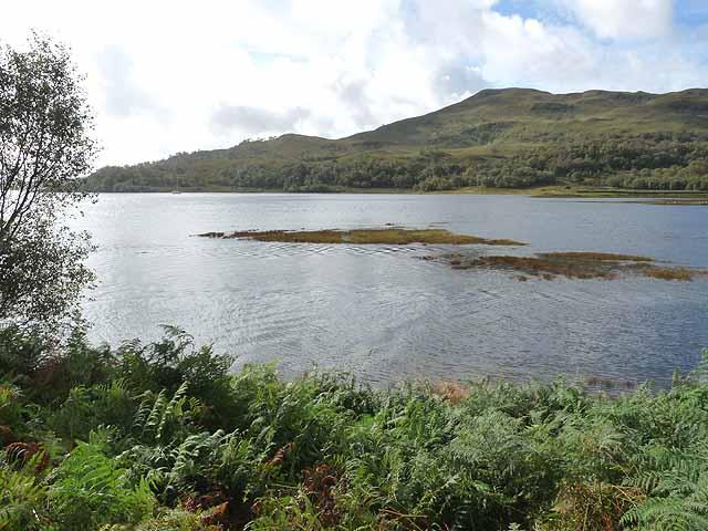 North end of Loch Spelve