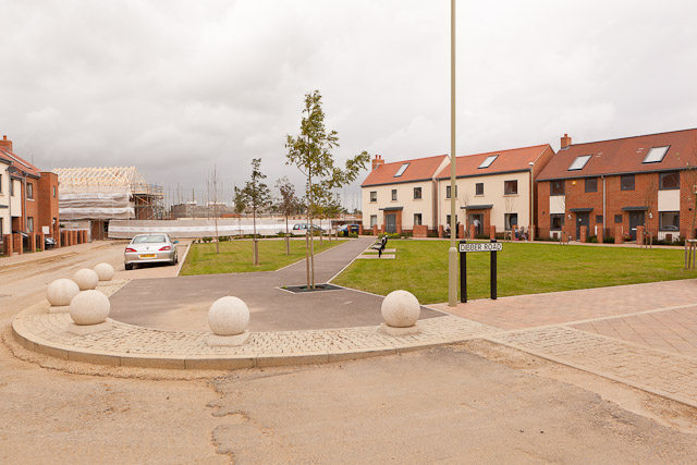 New green and housing in Dibber Road