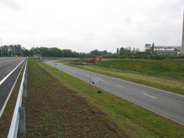 New roads through Stonelees