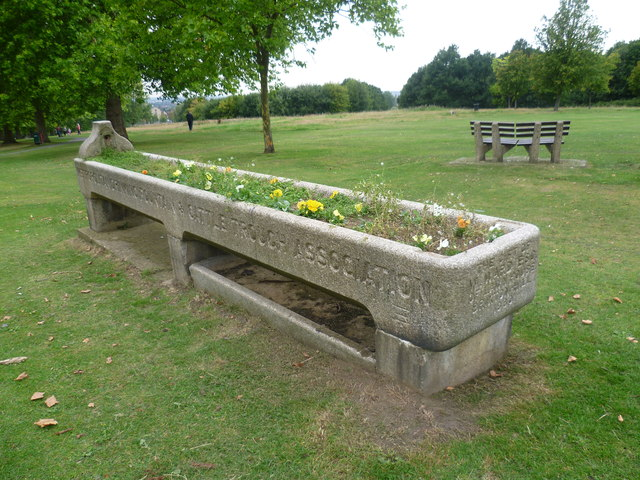 Former drinking trough on Streatham Common