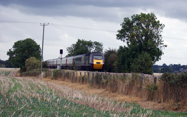 High Speed Train at Astwood