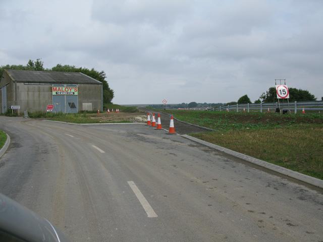 End of the road at Ebbsfleet Farm