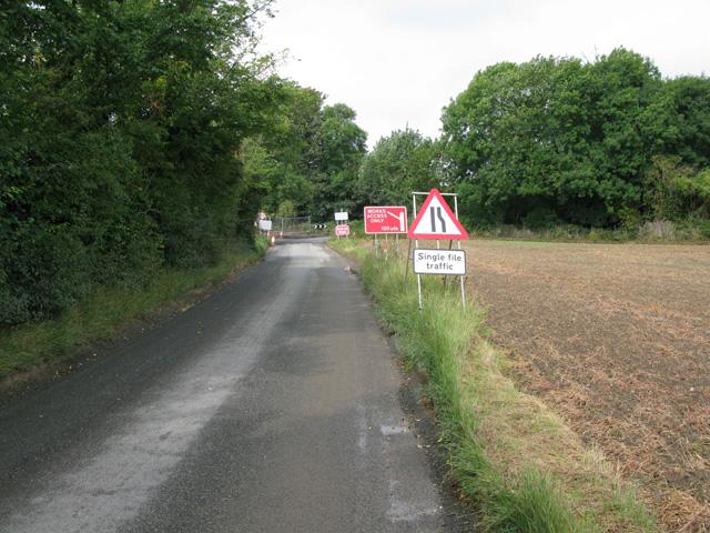 View along the Cottington Road, Cliffs End
