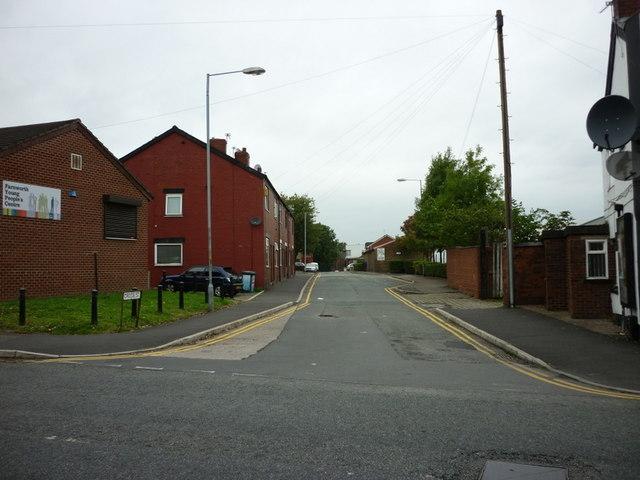 Cross Street off King Street, Farnworth