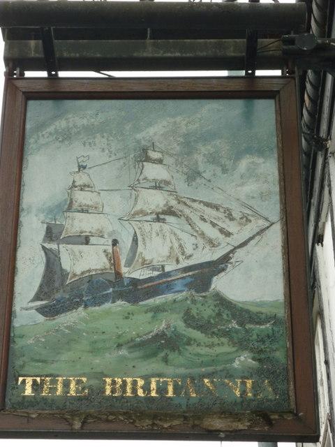 The Britannia public house on King Street