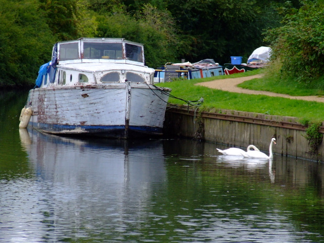 Boats on the River Brent