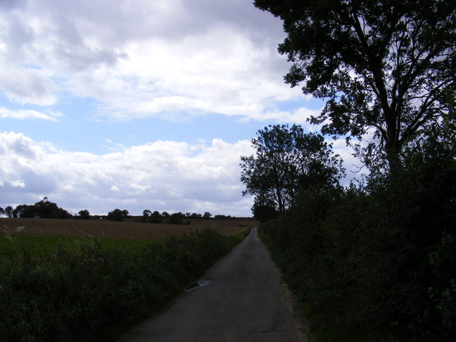 Road to Letheringham