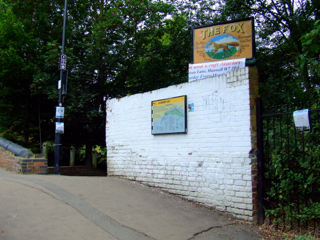 Path by the River Brent