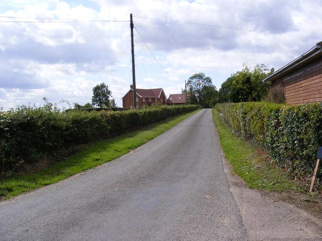 The Entrance to Old Park Farm