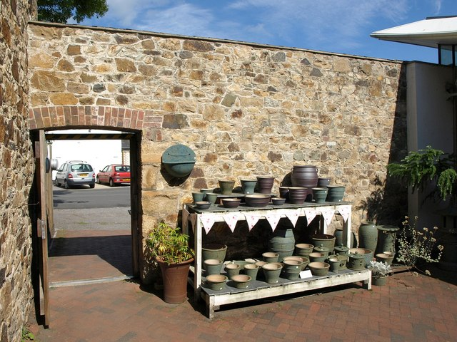 Pots at Riverside Mill, Bovey Tracey
