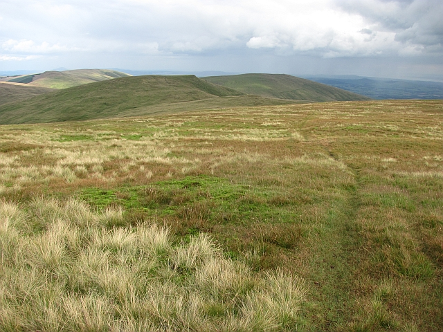 East side of Ben Cleuch