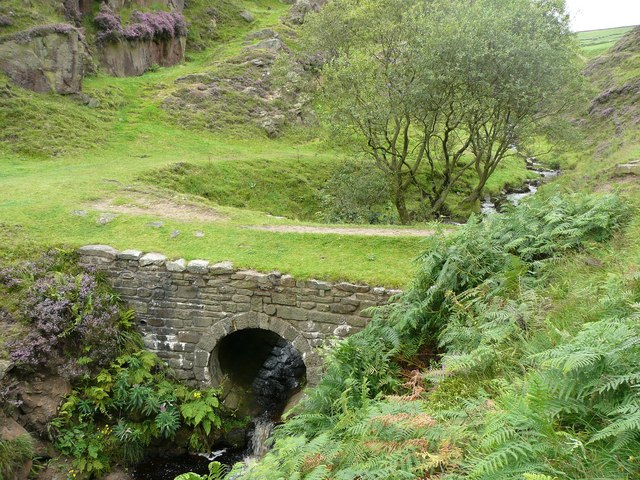 The bridge in Pudsey Clough, Cliviger / Todmorden