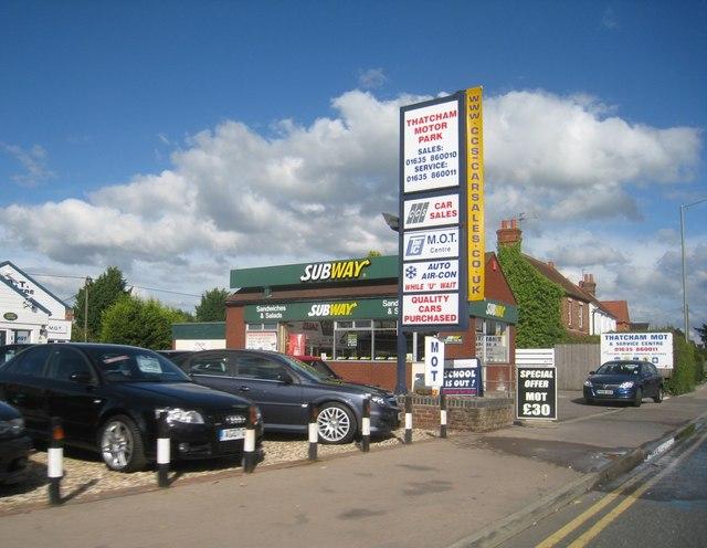 A4 - Thatcham Motor Park