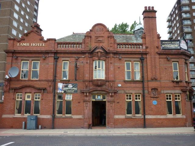 The Lamb Hotel, Eccles